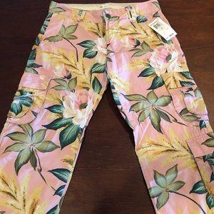 Lucky Brand Cargo crop pants